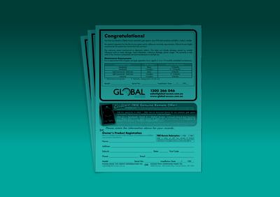 Product Registration Form Image