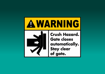 Gate Safety Image