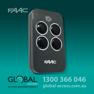 1018 0073 Faac 4 Button Rc Remote