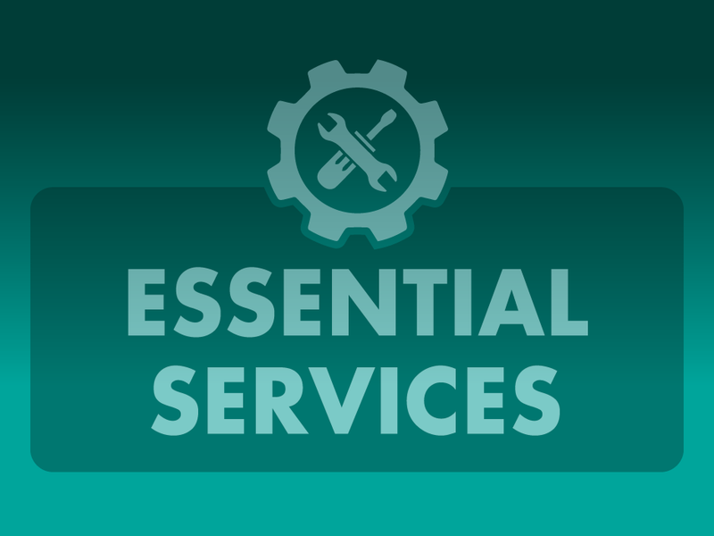Essential Services News Image