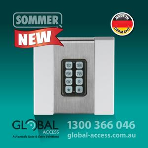 1038 0015 Sommer Flush Mount Keypad 1