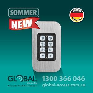 1038 0017 Sommer House Door Keypad 1