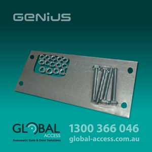 6049 0405 Genius Blizzard Foundation Plate