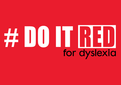 Do It Red For Dyslexia