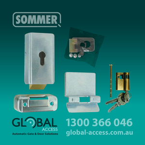 1045 0032 Sommer Twist Electric Lock 1