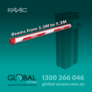 Faac B680 H Barrier Boom Beams
