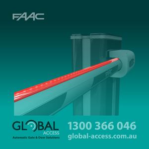 Faac B680 H Barrier Boom Led Strip 1