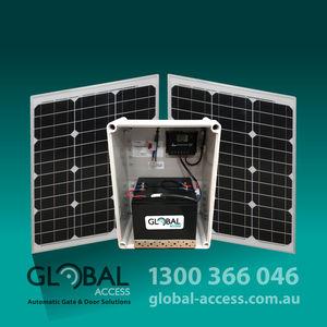 1062-0015 Global Access Solar Power Kits 50W