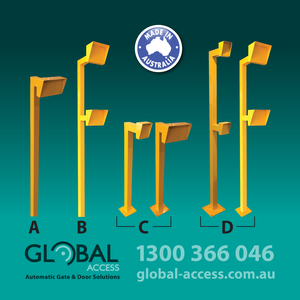Keypad Access Stands 1