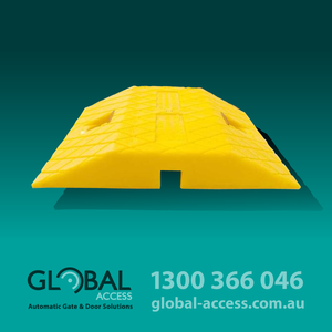 Poly Speed Hump Section Yellow 250Mm