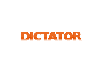 Dictator Brand Logo Image