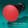 22Mm Mushroom Push Button Red