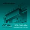 Mag Lock L Bracket 600 Lb 2