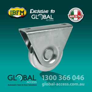 1361-0028 IBFM Italian 1 Bearing Gate Bottom Wheel 1