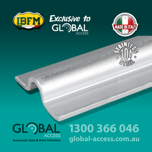Ibfm Stainless Steel U Ground Track 1