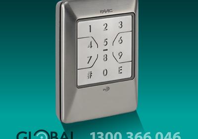 Faac Wireless Backlit Keypad 1