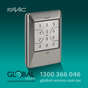 Faac Wireless Backlit Keypad 1