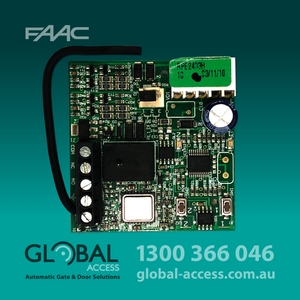 17 787742 Faac Plug In Receiver