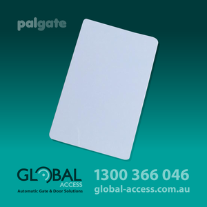 1852 0003 Pal Gate Rfid Uhf Pvc Card