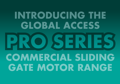 Global Pro Series Gate Motor