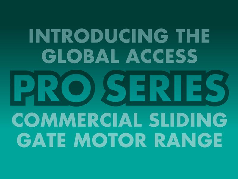 Global Pro Series Gate Motor