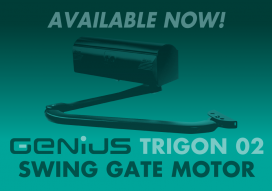 Genius Trigon 02 Swing Gate Motor Preview