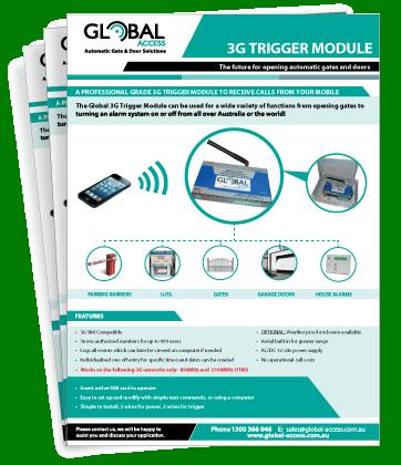 3G Trigger Module Brochure
