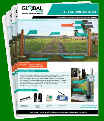 DIY Cantilever Sliding Gate Brochure