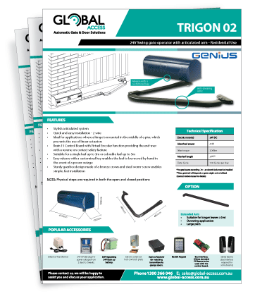 Genius Trigon 02 Brochure