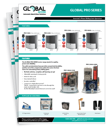 Global Access Pro Series Brochure