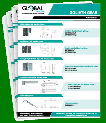 GOLIATH Gate Hinges Brochure
