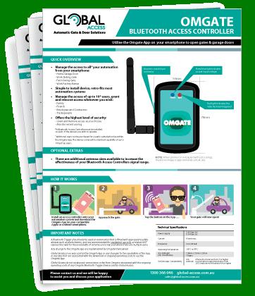 Omgate Bluetooth Access Controller Brochure