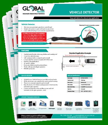 Vehicle Detector Brochure